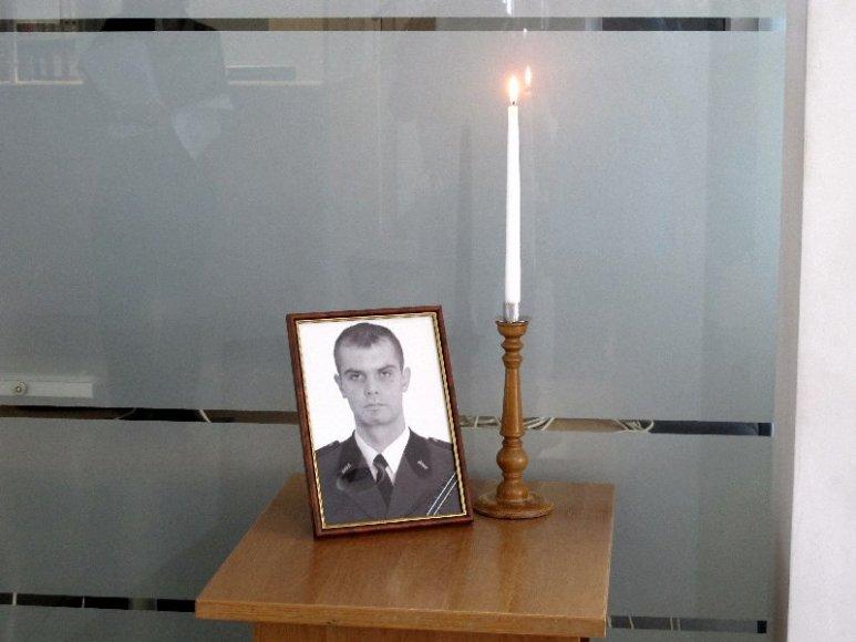 Kosove žuvo muitinės pareigūnas Audrius Šenavičius