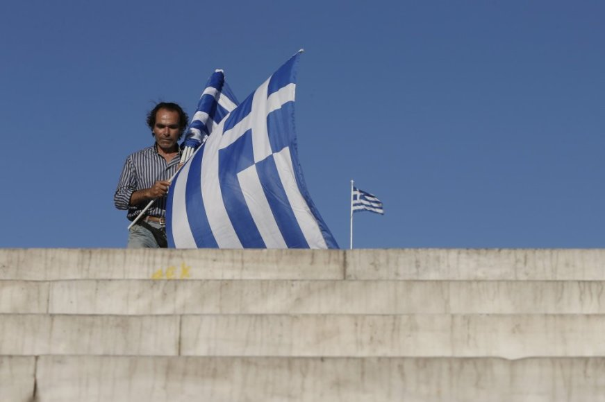 Graikijoje vyksta referendumas