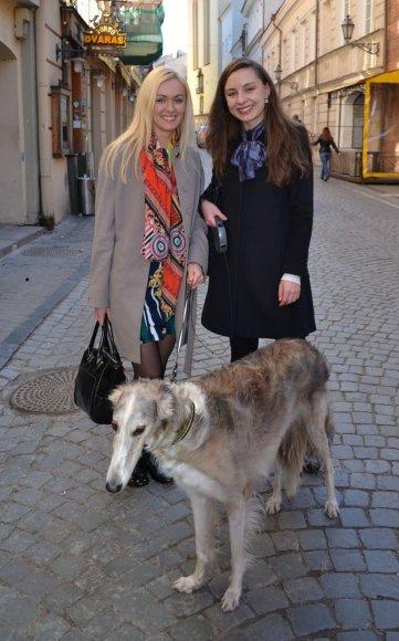 Gatvės stilius Vilniuje: Raimonda ir Paulina
