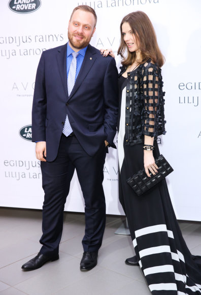 Romualdas Mačiulis ir Alesia Litvinionok