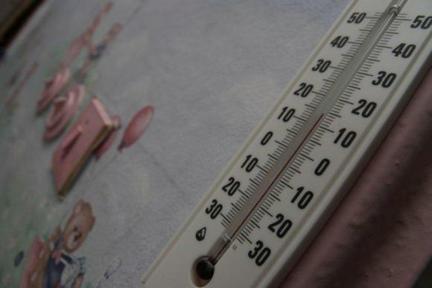 Pradėjus šildymo sezoną pirmiausia radiatoriai pradeda šilti darželiuose ir gydymo įstaigose