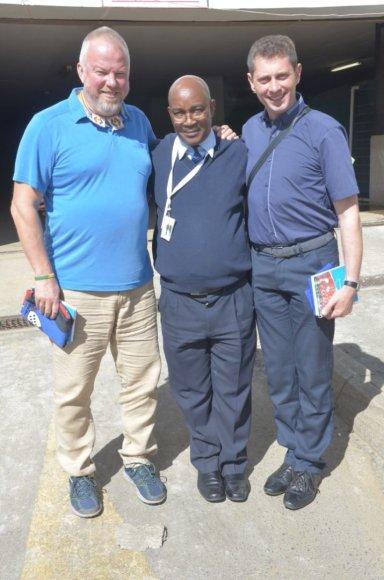 UNICEF gerumo misijos dalyviai Sazilande