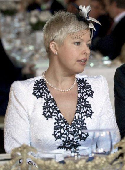Estijos prezidento Toomaso Hendriko Ilveso žmona Evelin