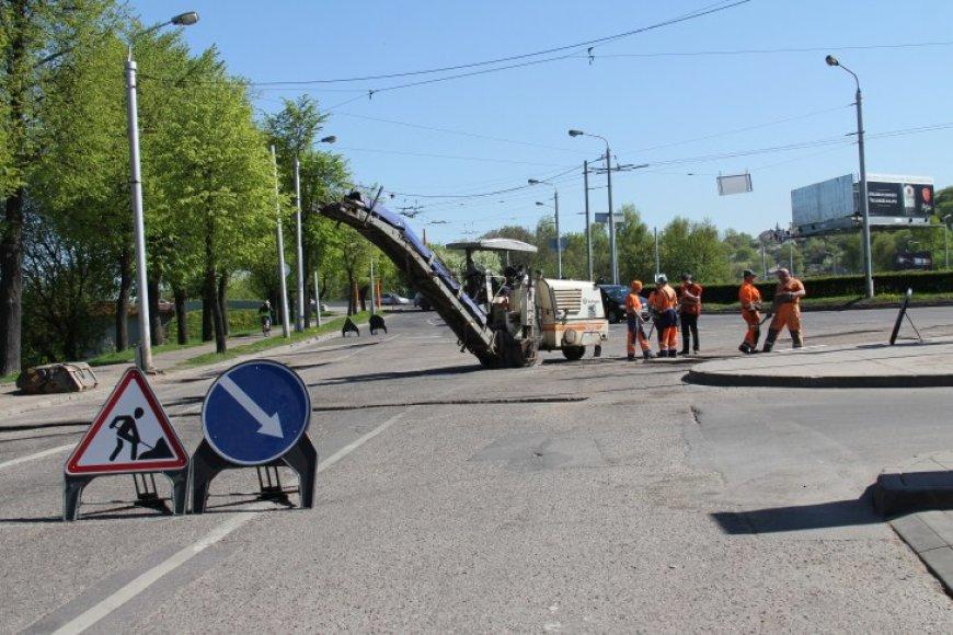 Į šių metų balandį tarybos patvirtintą Kauno miesto gatvių priežiūros programą įtrauktos svarbiausios magistralinės Kauno miesto gatvės