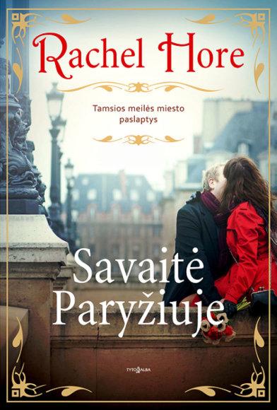 """Knygos """"Savaitė Paryžiuje"""" viršelis"""