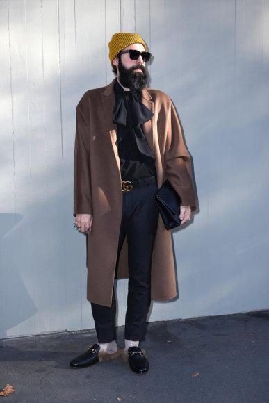 Vida Press nuotr./Milano vyrų mados savaitė: gatvės stilius