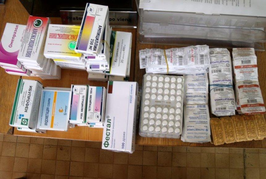 Rasti nelegalūs vaistai