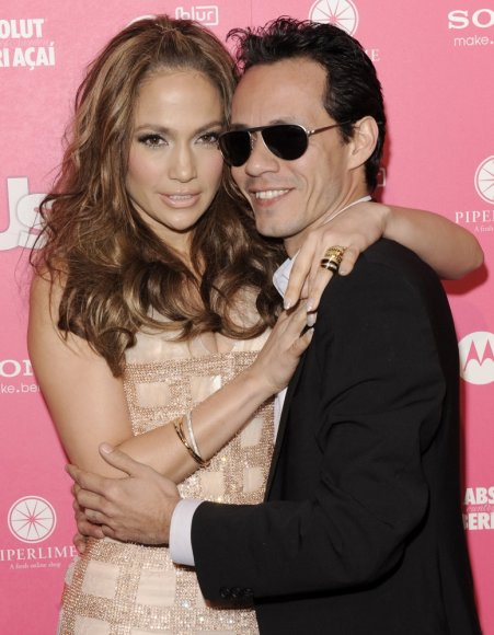 Jennifer Lopez ir Marcas Anthony