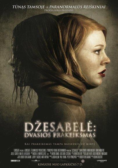 """Filmo """"Džesabelė: dvasios prakeiksmas"""" plakatas"""