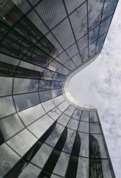 Stiklo fasadas