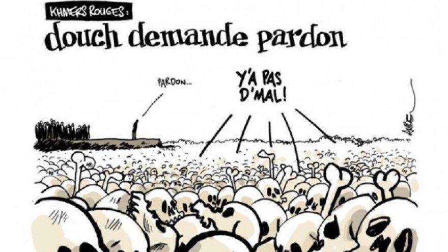 Aurel (Prancūzija) karikatūra