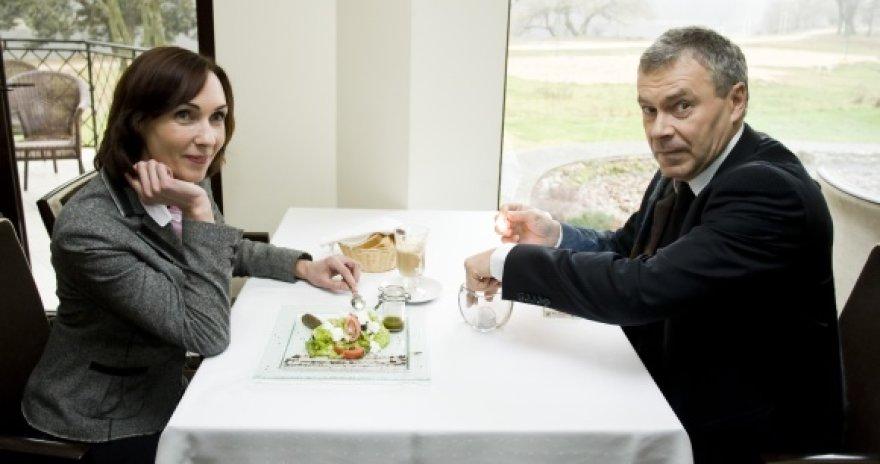 Aktoriai Jūratė Vilūnaitė ir Rimantas Bagdzevičius
