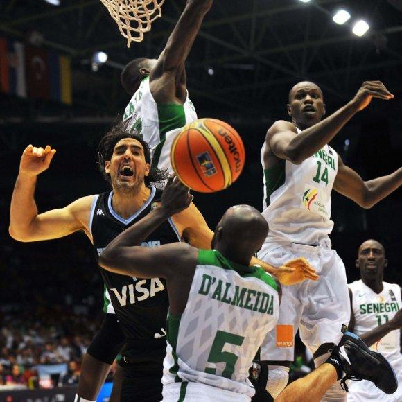 Argentinos krepšininkas Luisas Scola