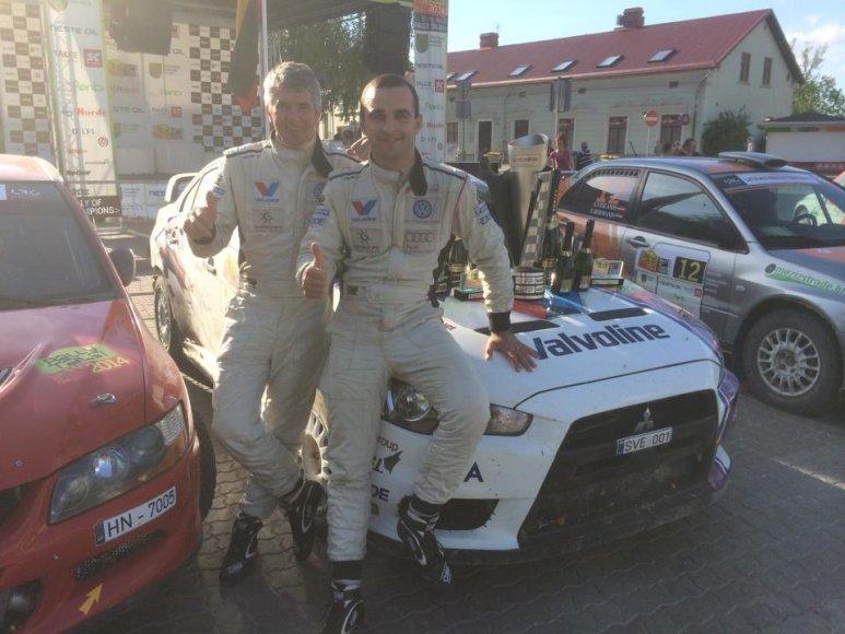 Vytautas Švedas (dešinėje) ir Žilvinas Sakalauskas