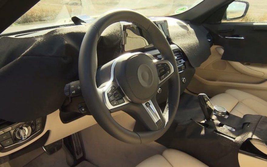 BMW 5 Series interjeras