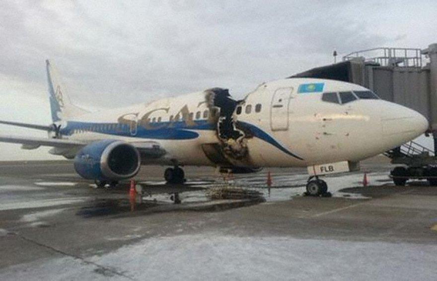 SCAT oro linijų lėktuvas, priklausęs ir Lietuvos oro vežėjams
