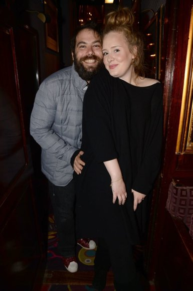 Vida Press nuotr./Adele ir Simonas Konecki