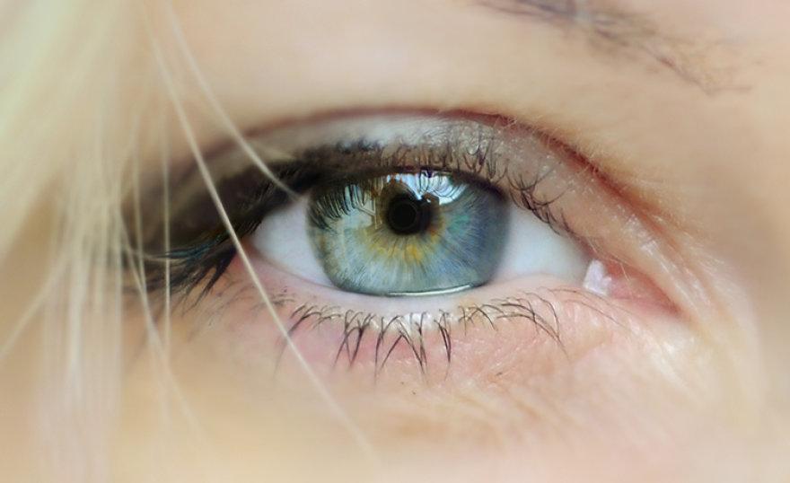 Baimės akys didelės