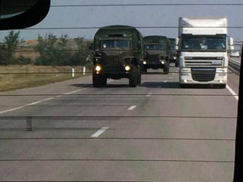 """Rusijos """"humanitarinė kolona"""""""