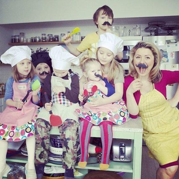 Beata Nicholson virtuvėje