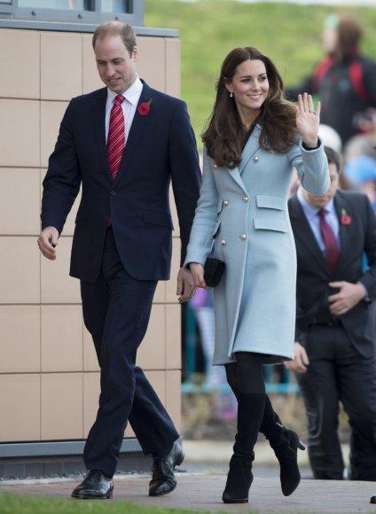 Catherine Middleton ir princas Williamas