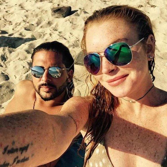 Lindsay Lohan ir Dennisas Papageorgiou