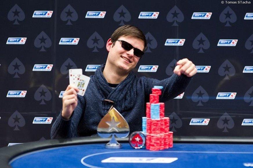 EPT šalutinio turnyro laimėtojas Laurynas Levinskas