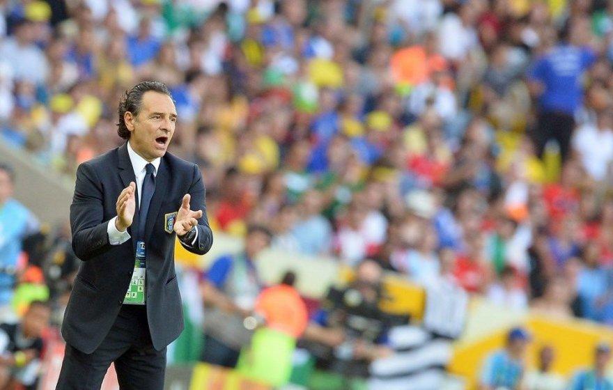 Italijos futbolo rinktinės treneris Cesare Prandelli
