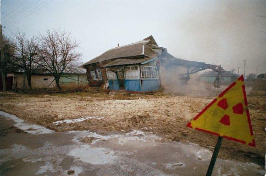 Apleistas kaimas radiacijos zonoje