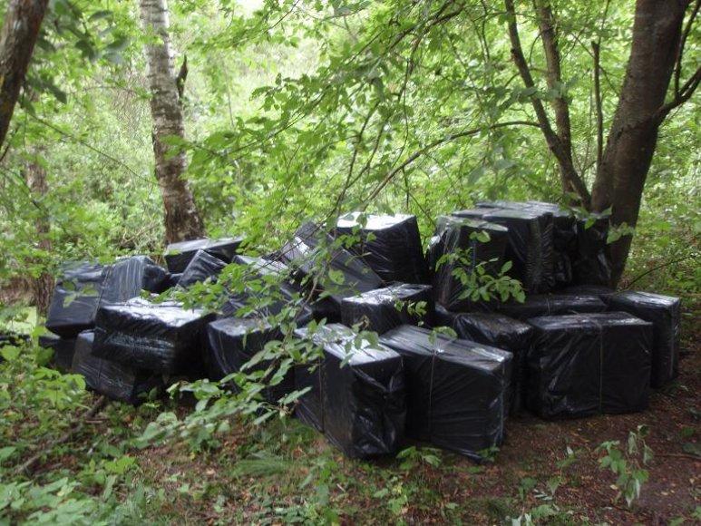 Kontrabanda, rasta Šalčininkų rajone