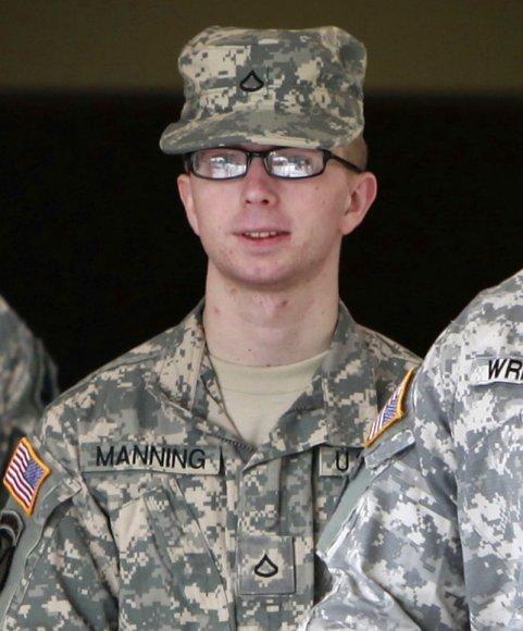 JAV karys Bradley Manningas
