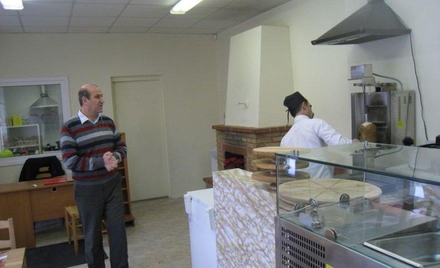 Sirai Azizas ir Pierre'as, Vilniuje atidarę savo piceriją