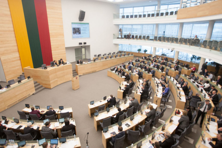 Seime pristatoma Vyriausybės programa