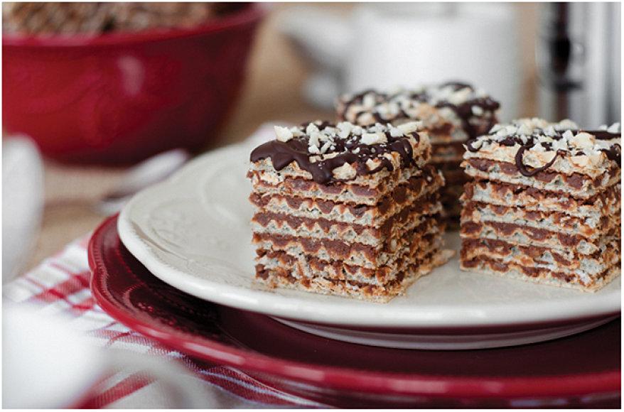 Šokoladiniai vafliukai
