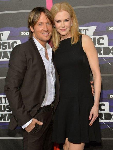 Nicole Kidman ir Keitho Urbano dukra Faith švenčia trečiąjį gimtadienį