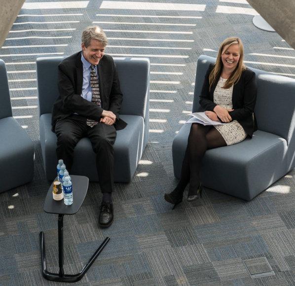 R.J. Shiller vizitas Lietuvoje