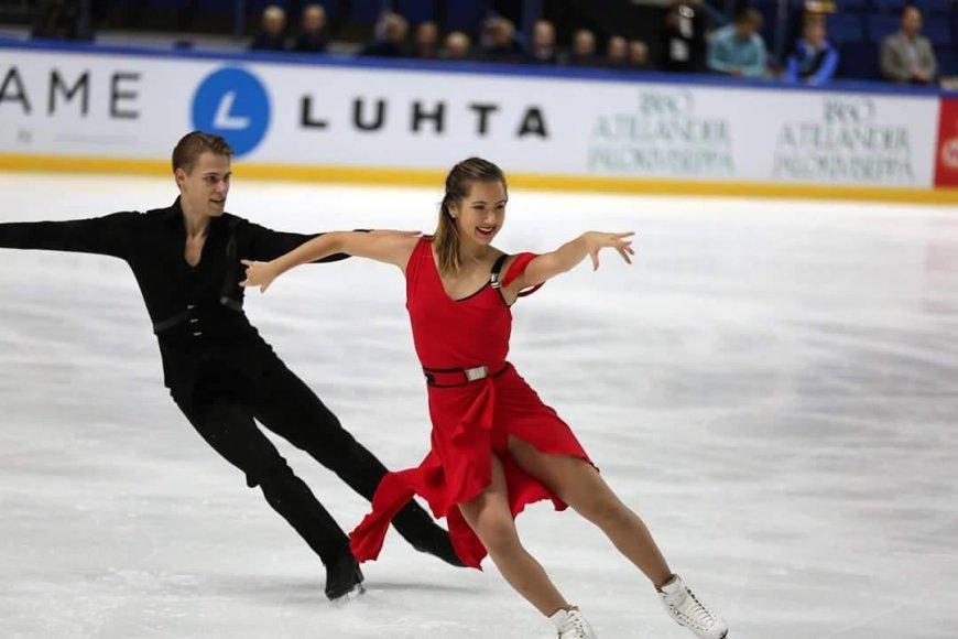 Saulius Ambrulevičius ir Taylor Tran