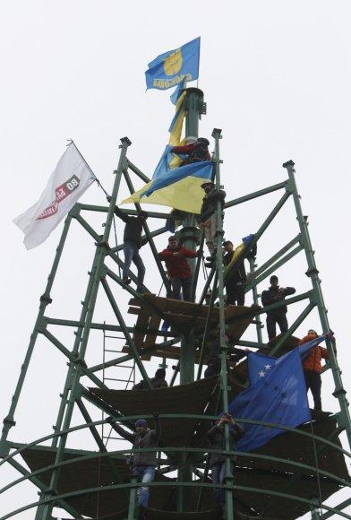 Daugiatūkstantinis mitingas Kijeve