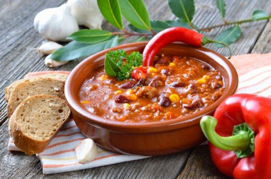 Aitrioji paprika - tikras skanėstas