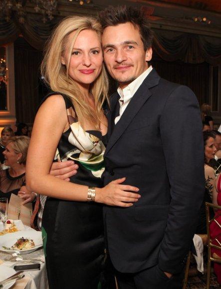 Aimee Mullins ir Rupertas Friendas