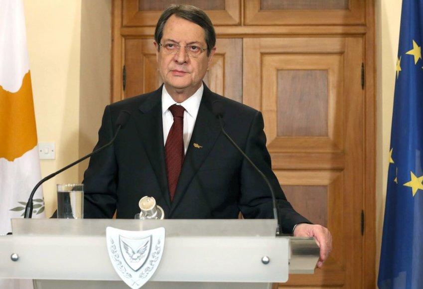 Kipro prezidentas Nikas Anastasiadis