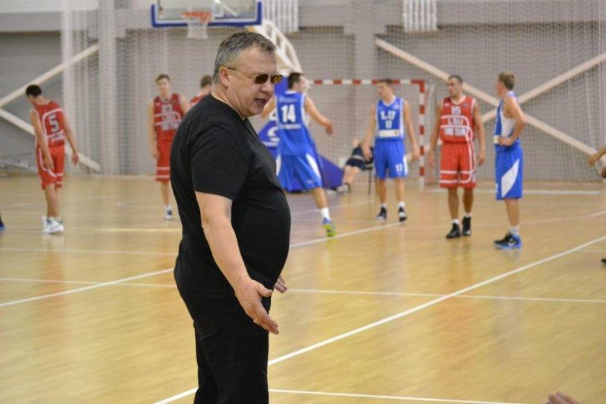 """""""LSU-Atleto"""" treneris Edas Nickus"""