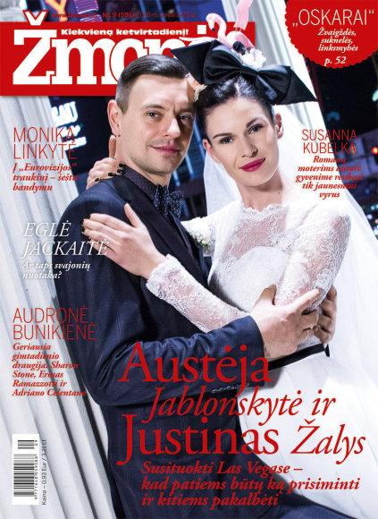 Austėja Jablonskytė ir Justinas Žalys