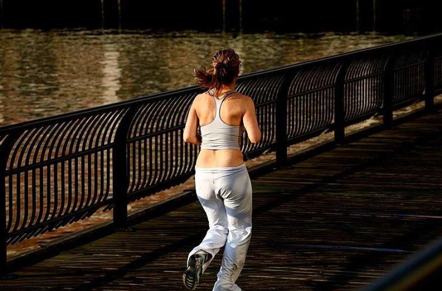 Bėgioti verta