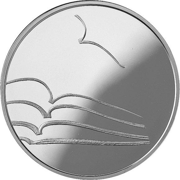 Moneta literatūrai (reversas )