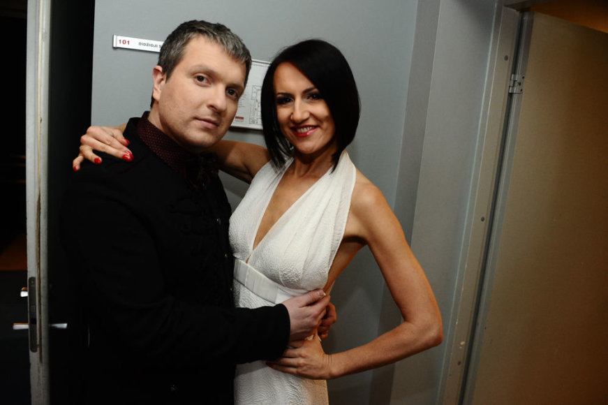 Deivydas Zvonkus ir Katažina Nemycko