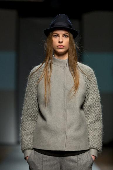 Organizatorių nuotr./Natalijos Jansones 2016-2017 m. rudens-žiemos kolekcijos modelis