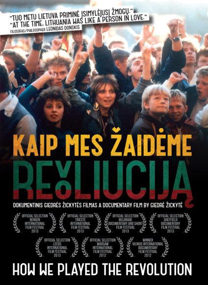 """Filmo """"Kaip mes žaidėme revoliuciją"""" DVD"""