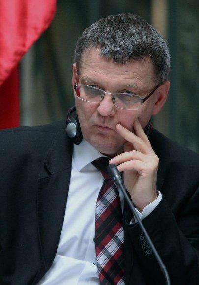 Čekijos užsienio reikalų ministras Lubomiras Zaoralekas