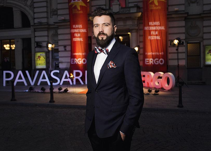 """""""Kino pavasario"""" renginių organizatorius Aurimas Kamantauskas"""